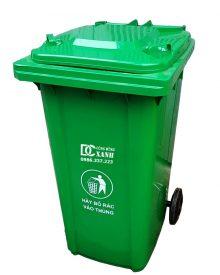 thùng rác nhựa 240 lít madein Việt Nam