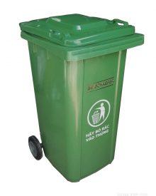 Thùng rác SCHAEFER nhựa HDPE 240L