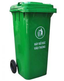 Thùng rác công cộng HDPE 120 lít