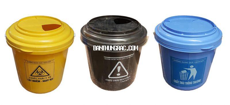 Hộp đựng chất thải không sắc nhọn loại 22L